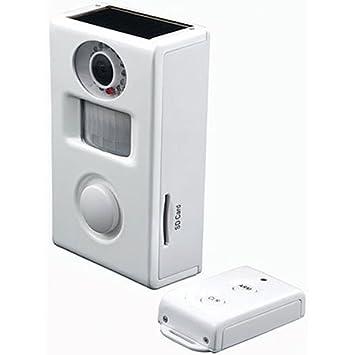 Cámara de vigilancia con sensor de movimiento-alarma y mando a distancia CC-410