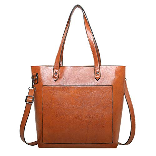 - Dainzuy Satchels Handbags for Women, Top Handle Satchel Large Shoulder Bag Tote Purse Large Capacity Messenger Bags Yellow