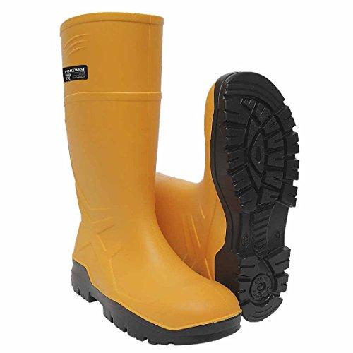 Portwest Workwear PU Safety Wellington S5 CI FO - FD95 - EU / UK gelb