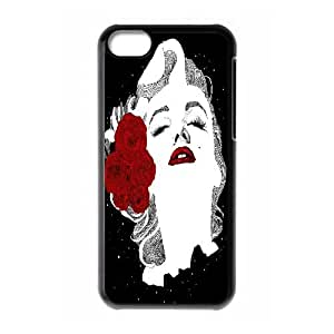 DDOUGS I Marilyn Monroe Customized Cell Phone Case for Iphone 5C, Personalised I Marilyn Monroe Case