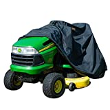 XYZCTEM Riding Lawn Mower Cover,Fits up to 54' Decks, Extreme Waterproof Protection and Reflective Strip