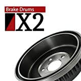 AutoDN Rear Brake Drums 2 PCS For 1988-1993 Ford