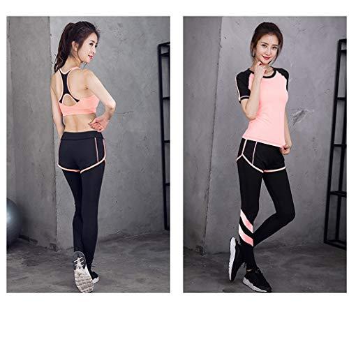 Sportivo Asciugatura Yoga Per Abbigliamento 2 Tre Fitness Pezzi Rapida Da Vest Suit Lilongjiao Donna Corsa xRX4qUU