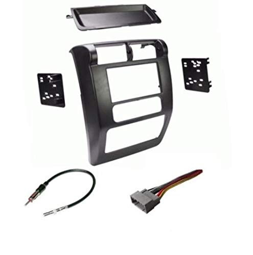 - 03 04 05 06 JEEP WRANGLER TJ Car Radio Stereo Installation Double Din Dash Kit
