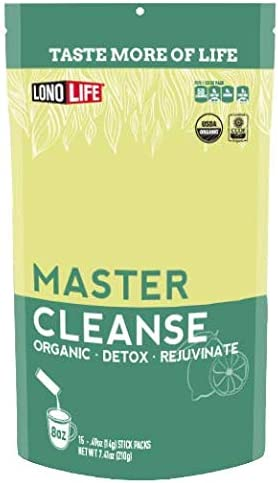 Amazon Com Lonolife Master Cleanse Powder Lemonade Detox Diet