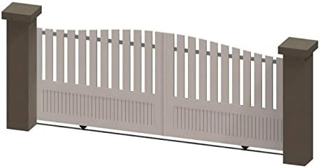 Alrededor del Portal PRD Aucun 527ad4 a3 mira puertas correderas en PVC Manual, color blanco, 3,5 m: Amazon.es: Bricolaje y herramientas