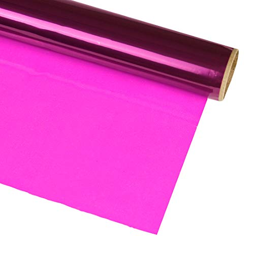 Hygloss Products Cellophane Roll – Cellophane Wrap for Crafts, Gifts, and Baskets 20 Inch x 12.5 Feet, Purple