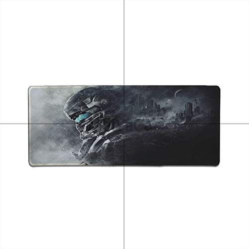 Halo 5 Gaming Mousepad Extend - Big Mouse Pad XL Size Playing Halo 5 PC Game by LP Chiel (900x300mm, 4)