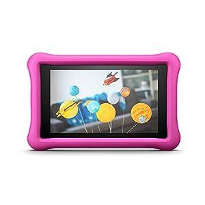 Amazon FreeTime - Funda infantil para Fire HD 8 (tablet de 8 pulgadas, 7ª y 8ª generación, modelos de 2017 y 2018), Rosa