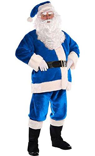 Caufield's Blue Santa Suit Large Blue Santa Suit Large 42-48