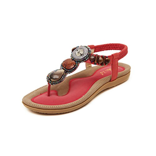 Jazlyn Womens Bohemian Gemstone Sandals product image