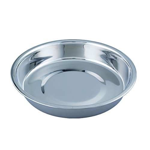 QT Dog Puppy Stainless Steel Pan, 14