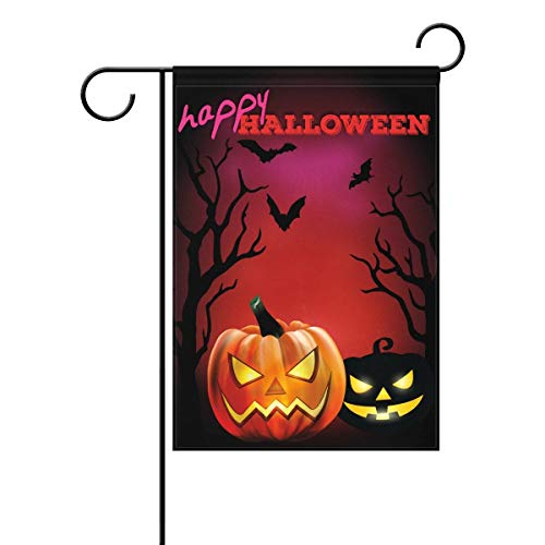 Decorative Retro Vintage Happy Halloween Pumpkin Owls Ghost