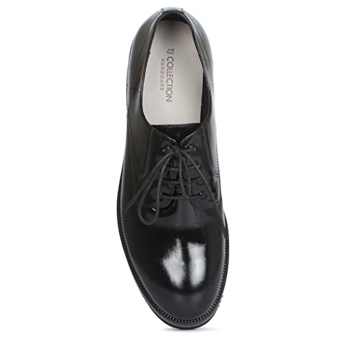 Leather Women's Tj Collection Lace ups Derby qxO816CEwn