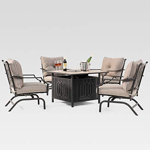 Sunjoy 110203059 Seating Set, Dark Brown