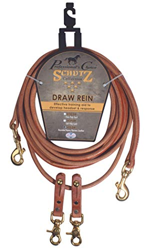 Professional's Choice Poly Rope Draw Reins