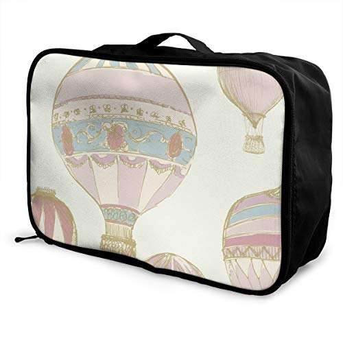 Mintslove Fashion Portable Luggage Bag Hot Air Balloons