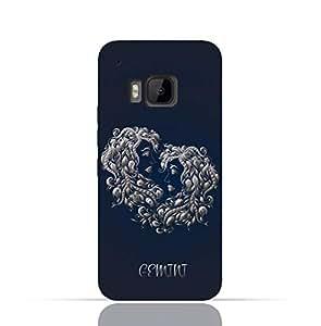 HTC ONE M9 TPU Silicone Case with Zodiac-Sign-Gemini Design