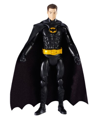 DC Comics Multiverse Basic Figure Unmasked Variant Batman [Michael Keaton] 4 Inches