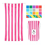 Dock & Bay Quick Dry Towel for Beach - Phi Phi Pink, Extra Large (200x90cm, 78x35) - Sand Proof Beach mat, Fast Drying Towels, Cabana - Phi Phi Pink