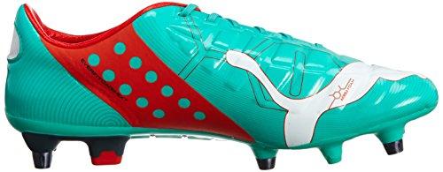 Puma Evopower 1 Mixed Sg, Botas de Fútbol para Hombre Turquesa