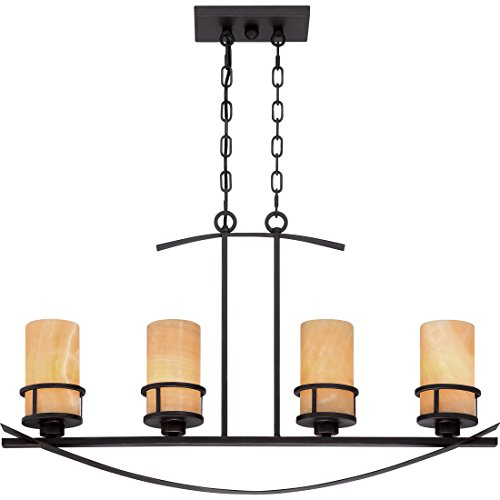 Quoizel KY433IB 4-Light Kyle Island Chandelier in Imperial Bronze - Imperial Bronze Vanity
