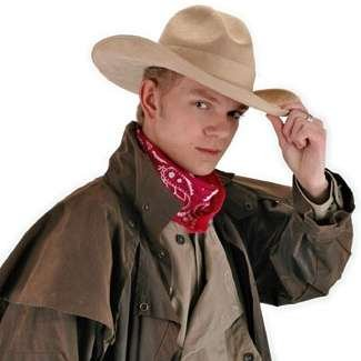 elope The Gambler Beige Cowboy (Silent Film Actor Costume)