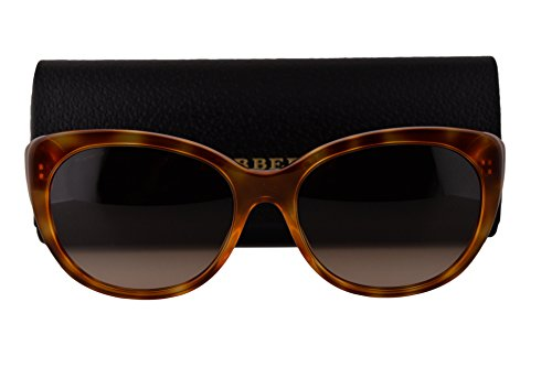 Burberry BE4224 Sunglasses Light Havana w/Brown Gradient Lens 305413 BE - Sunglasses Cheap Burberry