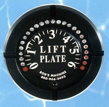 Bob's Machine Shop Standard/Extreme/Mini Series Jack Plate Lift Gauge (Black)