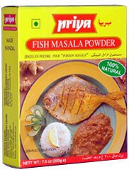 Priya Fish Masala Powder 100G(pack of 3) by Priya