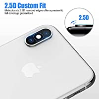 Camera Lens Protector Compatible for iPhone Xs X Xs Max - [2 Pack] ICHECKEY Super Clear Ultra HD Back Camera Lens Tempered Glass Screen Cover Film Shield for Apple iPhone Xs/X/XS Max by ICHECKEY