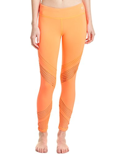 trina-turk-recreation-womens-laser-cut-solid-full-length-legging-neon-coral-small