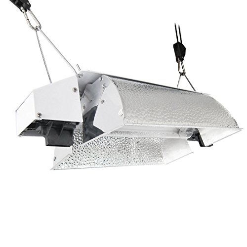 [해외]iPower 1000W 더블 엔드 라이트 전등 240V 성장/iPower 1000W Double Ended Grow Light Fixture 240V
