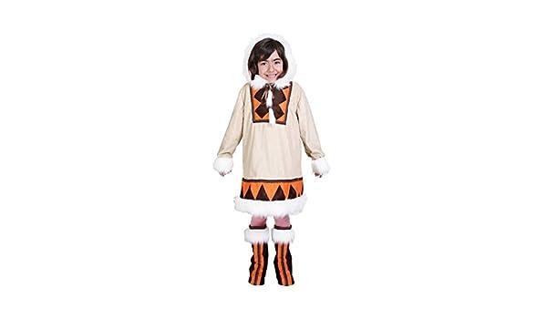 Disfraz de Esquimal para niña: Amazon.es: Juguetes y juegos