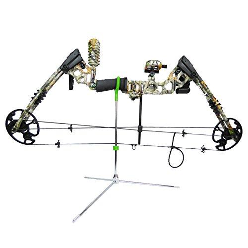 Cartel - Repose arc RX-103 en acier - Convient pour tous types d'arcs - Montage rapide par vis