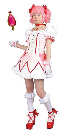[Puella Magi Madoka Magica Kaname Madoka magical girl clothes size M Soul Gem with nine points set (japan] (Puella Magi Madoka Magica Madoka Kaname Cosplay Costume)