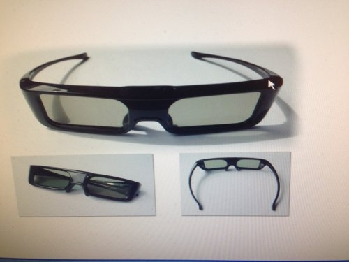 AE Select PANASONIC Harvested Part: TY-ER3D5MA Active 3D Glasses OEM (Panasonic Viera Ty Er3d4mu Active Shutter 3d Eyewear)