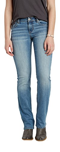 maurices Women's Ellie Slim Boot Jeans In Light Wash 7/8 Light (Long Inseam Jeans)