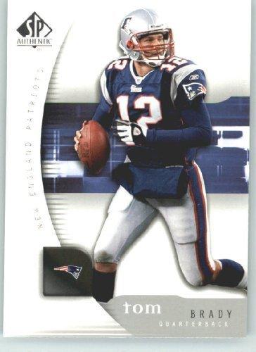 Tom Brady - New England Patriots - 2005 SP Authentic Card # 50 - NFL Trading ()