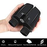 10x25 Binoculars for Adults, CBoner Small Compact and Folding High Powered Binoculars