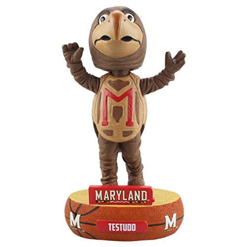 Forever Collectibles Maryland Terrapins Mascot Maryland Terrapins Baller Special Edition Bobblehead
