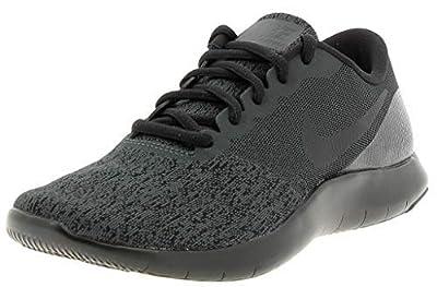 Nike Men's Flex Contact Running Shoe (7 M US, Triple Black)