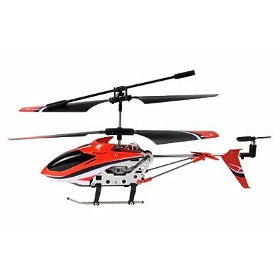 Amewi 25072 x indoor iR-level-hélicoptère télécommandé à gyroscope (aluminium), batterie uSB liPo