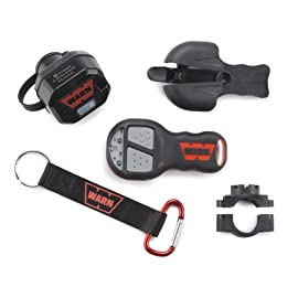 WARN 90287 Winch Component Accessory: Wireless Remote Control System for Truck and SUV Winches with 5 Wire Electrical…