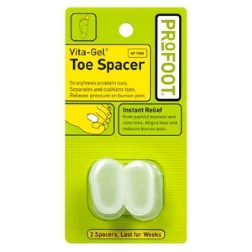 ProFoot Vita-Gel Toe Spacer 2 Each (Pack of 3) by Profoot