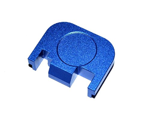 BASTION Rear Cover Slide Back Plate for Glock 17 19 21 22 23 24 26 27 29 30  31 32 33 34 35 36 37 38 39 40 41 Gen 1-4 Butt Plate, Does not fit Glock 42