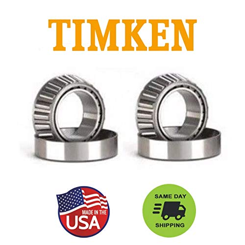 (Dana 60 - TIMKEN Made in USA - Differential Carrier Bearings & Races)
