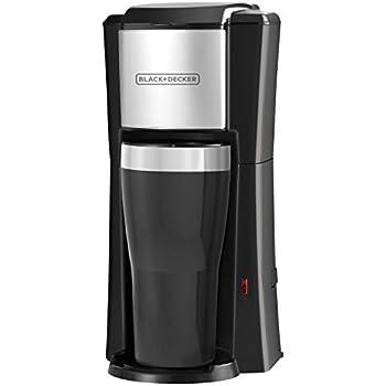 BLACK+DECKER Single Serve Coffeemaker, Black, CM618