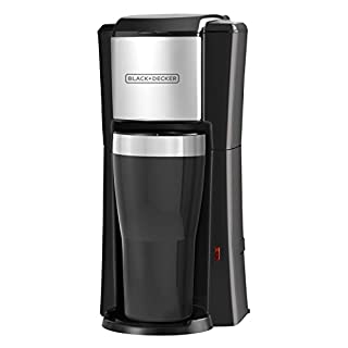 BLACK+DECKER Single Serve Coffee Maker, Includes One Dishwasher Safe Travel Mug (16oz), CM618C (B0093C88M8) | Amazon Products