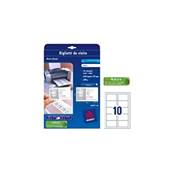Avery C32011 25 Printable Single Sided Business Cards 10 Cards Per